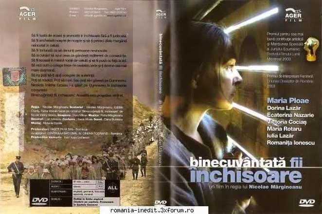 Binecuvântata fii, închisoare (Film romanesc)2002