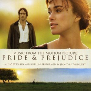 banda sonora - orgullo y prejuicio - pride and prejudice (front)