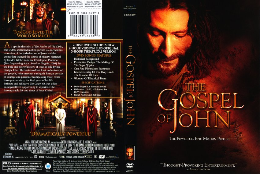 The Gospel Of John (2003) subtitrat in limba romana
