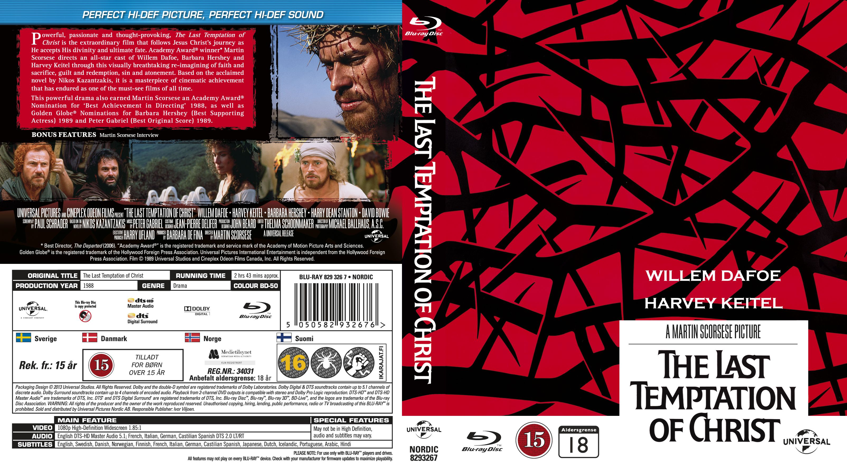 The Last Temptation of Christ – Ultima ispita a lui Iisus (1988)